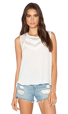 heartLoom Noi Top in Eggshell