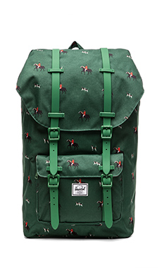 Herschel Supply Co. Little America Backpack in Sunday/ Emerald