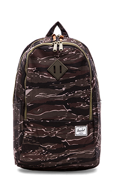 Herschel Supply Co. Nelson Backpack in Tiger Camo/ Army