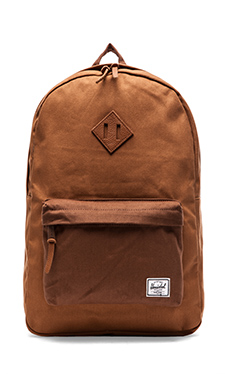 Herschel Supply Co. Select Collection Heritage Backpack in Caramel/ Dark Caramel