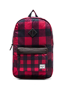 Herschel Supply Co. Heritage Backpack in Buffalo Plaid
