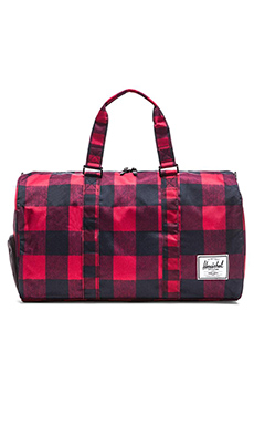 Herschel Supply Co. Novel Duffle in Buffalo Plaid