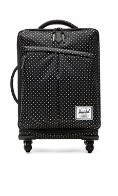 Herschel Supply Co. Highland Carry-On in Polka Dot & Black Rubber