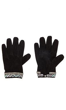 HiPANEMA x AMENAPiH Mano Gloves in Black