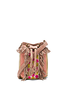 HiPANEMA x AMENAPiH Cheyenne Crossbody in Pink