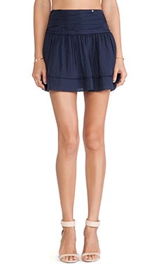 harlyn The Cher Skirt in Navy Checkered