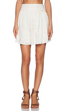 harlyn Flare Skirt in Creme