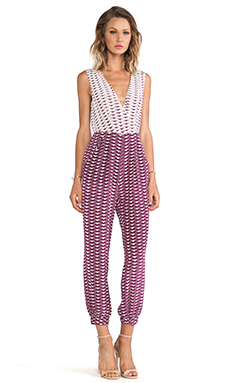 harlyn The Claudette Jumpsuit in Panty Print