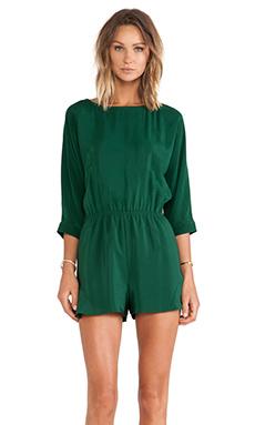 harlyn The Sofia Romper in Emerald