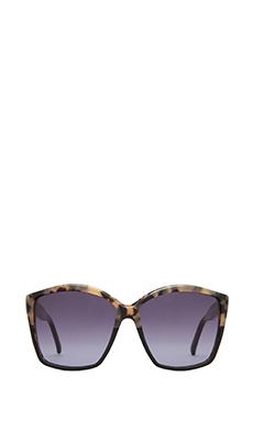 House of Harlow Jordana Sunglasses in Black Oreo