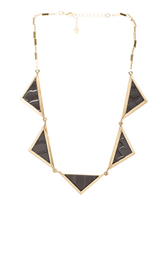 House of Harlow Triptych Collar in Gold