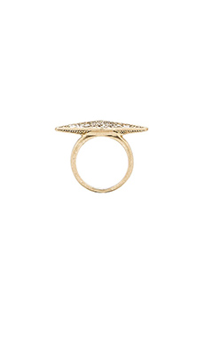 House of Harlow Sparkling Marquis Ring in Gold
