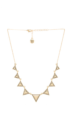 House of Harlow Athena's Collar Necklace in Gold