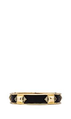 House of Harlow Pura Temple Bracelet in Gold/Black