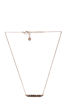 House of Harlow Seer's Necklace in Rose Gold