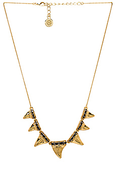 House of Harlow Diamondhead Necklace in Gold