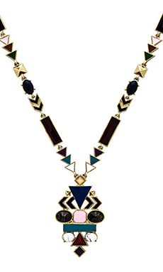 House of Harlow Eden's Pendant Necklace in Multi