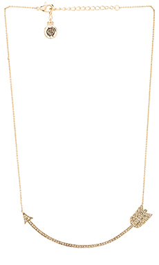 House of Harlow Arrow Affair Collar Necklace in Gold