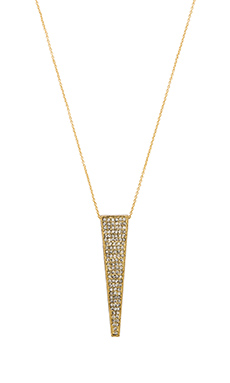 House of Harlow Kinetic Pendant Necklace in Gold