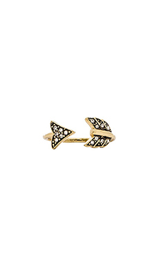 House of Harlow Arrow Affair Ring in Gold