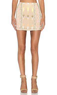 Hoss Intropia Embellished Skirt in Light Pink