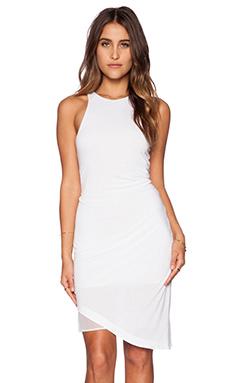 Heather Asymmetrical Dress in White