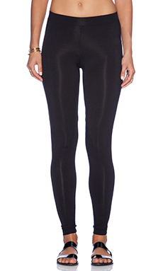 Heather Legging in Black