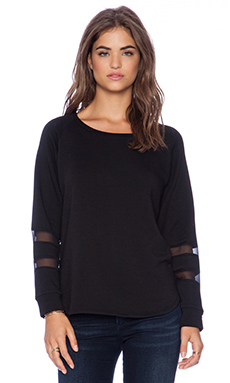 Heather Long Sleeve Tunic in Black