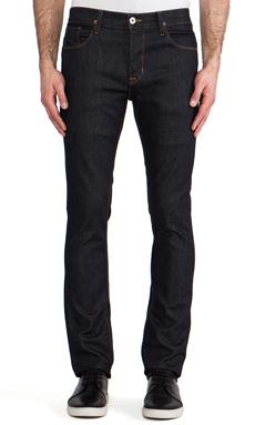 Hudson Jeans Sartor Slouchy Skinny in Edges