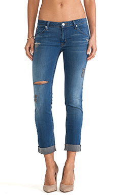 Hudson Jeans Barca Cropped in Foxey