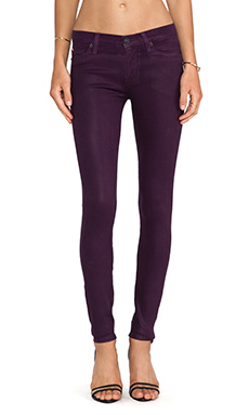 Hudson Jeans Nico Super Skinny in Mulberry Wax