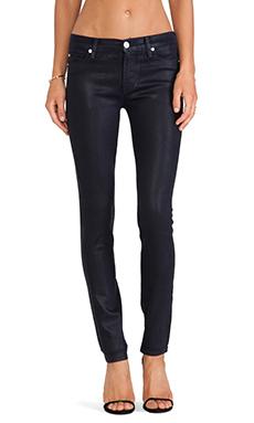 Hudson Jeans Krista Super Skinny in Black Iris Wax