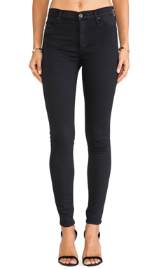 Hudson Jeans Barbara High Waist Skinny in Rendezvous