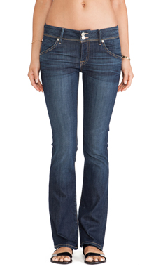 Hudson Jeans Beth Petite Baby Bootcut in Stella