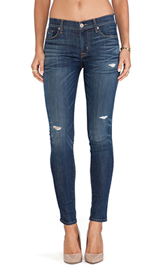 Hudson Jeans Nico Midrise Super Skinny in Cruel