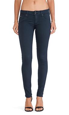 Hudson Jeans Collin Skinny Super Stretch in Petrol