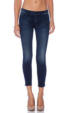 Hudson Jeans Krista Super Skinny Crop in Contrary