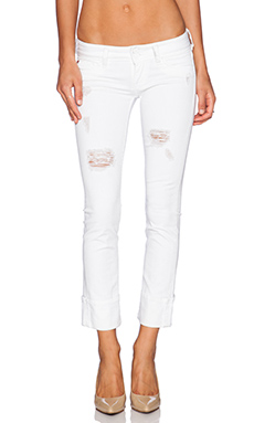 Hudson Jeans Ginny Crop with Distressing in Gateway