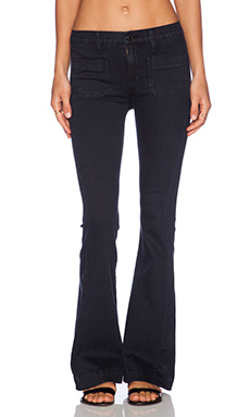 Hudson Jeans Taylor High Waisted Flare in Rooftop