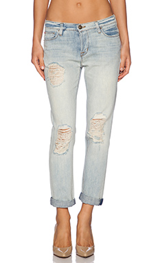 Hudson Jeans Leigh Boyfriend Pant in Weekend Warrior