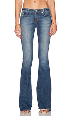 Hudson Jeans Mia Five Pocket Flare in Strut