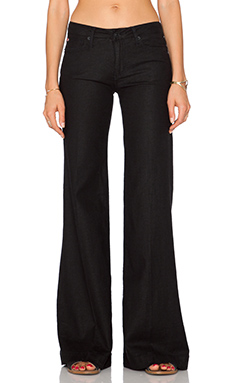 Hudson Jeans Gwen Wide Leg in Black