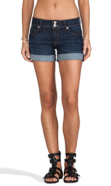 Hudson Jeans Croxley Mid Thigh Short in Iconic
