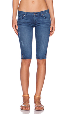 Hudson Jeans Viceroy Knee Short in Angeltown
