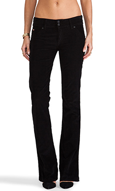Hudson Jeans Cord Bootcut in Black