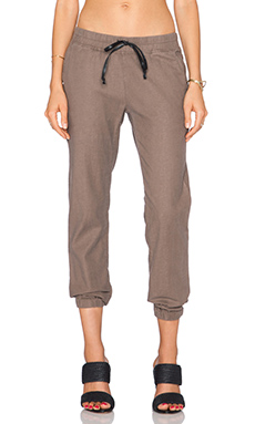Hudson Jeans Addison Drawstring Pant in Beach Rock