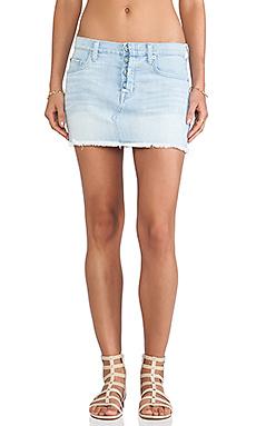Hudson Jeans Anya Mini Skirt in The Hustle