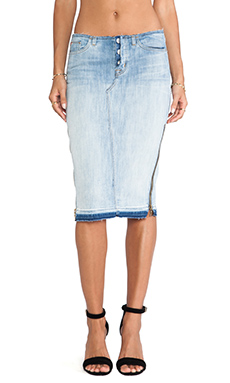 Hudson Jeans Vivienne Pencil Skirt in Superstitions