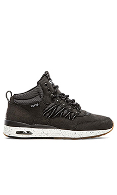 Huf HR-1 Sneaker in Black/Reflective/Gum