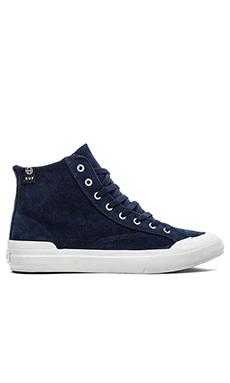 Huf Classic Hi Sneaker in Navy/Seaport